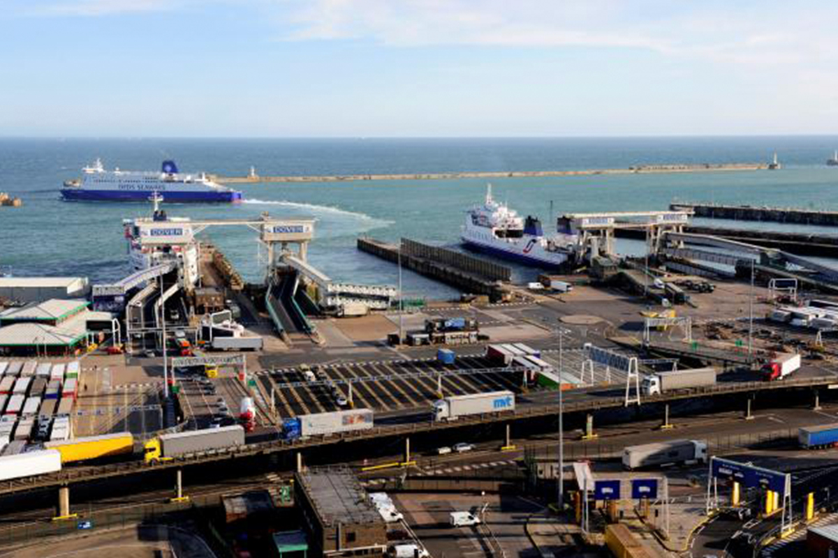 Customer Case Study Image: Port of Dover